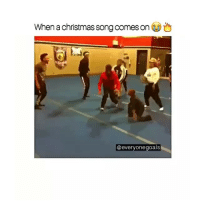 THIS TOO LIT: When a christmas song comes on  @everyonegoals THIS TOO LIT