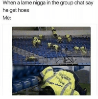 """9/11, Bored, and Dumb: When a lame nigga in the group chat say  he get hoes  Me: """"Im bored."""" """"Same."""" """"You tryna make out?"""" """"Nigga what?"""" """"Never mind it was a dumb question."""" """"You wanna make up some scenarios?"""" """"Scenarios?"""" """"Yea, made up situations."""" """"Oh ok. Ight you go first."""" """"Hmm lets see. If you could relive last year, what would you do differently?"""" """"Awww this shit easy. I wouldn't fuck this one nigga that gave me herpes."""" """"Holup you got herpes? Is that why you wanted to make-"""" """"What would you do differently?"""" """"Me? I would stop myself from nutting in my baby sisters lotion."""" """"Oh word you do that too?"""" Alright I got a tough one. If you could go back in time to any time period, where would you go and why?"""" """"Tough? Nigga thats easy."""" """"How?"""" """"Look, ima go back to when my Mom was pregnant with me and rock her shit while she on the stairs. Im saving her money on an abortion ya feel me?"""" """"Wont you dissapear then?"""" """"Dont we all?"""" """"Damn that's deep."""" """"What would you do?"""" """"Well, I'd probably go back in time and stop 9-11."""" """"9-11? Whats that?"""" """"Exactly ( ͡° ͜ʖ ͡°)"""""""
