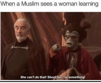 """<p>Jesus 🅱️hrist (by Zeustah- ) via /r/dank_meme <a href=""""http://ift.tt/2rlLBAl"""">http://ift.tt/2rlLBAl</a></p>: When a Muslim sees a woman learning  She can't do that! Shoot her...or something <p>Jesus 🅱️hrist (by Zeustah- ) via /r/dank_meme <a href=""""http://ift.tt/2rlLBAl"""">http://ift.tt/2rlLBAl</a></p>"""