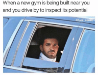 God damnit not another planet fitness: When a new gym is being built near you  and you drive by to inspect its potential  @fuck cardio God damnit not another planet fitness