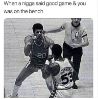 "Ass, Basketball, and Booty: When a nigga said good game & you  was on the bench There's a borderline between savagery and disrespect. Dunking on a nigga with ur sack on his nose like a set of glasses is savagery. Telling ya momma suck my dick is disrespectful, but this right here, chief said ain't it. This will get your ticket punch and teeth knocked straight out. It's my junior high school basketball team. We nothing but a bunch of brown shirts from 2k. The tallest kid was 5'7 and our Coach, Mr.Andre breath smelled like booty residue. Nigga be yelling out plays and my nose takes a time out. During practice we ain't do nothing but layup lines and watch him miss shots he said we should make. Lead by example my nigga. We on our way for the first game of the season. The bus ride coach giving us a prep talk but nobody listening. One kid even yelled out"" didn't your wife leave you?"". Like this dude was a joke! We get to the gym and it's like we in the wrong ball division. They tallest player could slap box God on his knees. These was not no ""8th graders"". I look across the court and the coach does a full blown 360 Vince carter dunk with a Backwood behind his ear. I swore I seen one of them pull up with his son. My ass ain't leave that bench once. Coach was so disrespectful. Half time came and when we headed to the locker room he told me it was best I stayed where I was. Our squad ended up getting smacked 90 to 23. These boys done ran up the score for no reason. One nigga went got his dick suck and came back for buckets. End of game we dapping everyone up. Thier coach came up to our coach like good game. Coach Dre got so heated and tried to throw a hit. Outta no where they 5ft pg with hoop mixtape bunnies hop on our coach back and it was the end for him. Coach Dre got stomped out in the gym. Refs was watching ain't even passing out techs. We not invited to IS 38 no mo.They had the nerve to say ""Good game"". Ain't shit good about this game. I was more mad about not playing then the L. Coach Andre got stomped out in they home gym. It was quiet bus ride back to school. Coach Andre resigned after we went 0-10. Caption: @genuineguy"