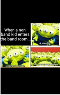 I played clarinet today! It was all fun and games until my mouth started hurting. We're putting on a production of Oklahoma! next month. I'm excited. Hope your Thursday has been great!  ~PiccoloPrincess~: When a non  band kid enters  the band room.  from the outside  A stranger I played clarinet today! It was all fun and games until my mouth started hurting. We're putting on a production of Oklahoma! next month. I'm excited. Hope your Thursday has been great!  ~PiccoloPrincess~