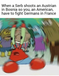 USA entering in World War 1, 1917 colorised: When a Serb shoots an Austrian  in Bosnia so you, an American,  have to fight Germans in France USA entering in World War 1, 1917 colorised