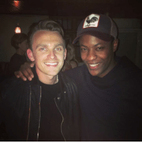 When Alex Hunter meets Gareth Walker in real life: When Alex Hunter meets Gareth Walker in real life