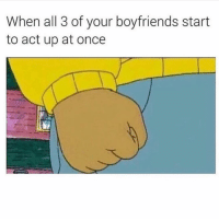 Memes, Girl, and Player: When all 3 of your boyfriends start  to act up at once Tag a playerrrr 💃🏻 player memes memeoftheday