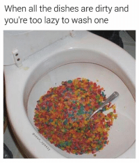 Breakfast is the most important meal of the day 🍳 (thanks for following @sean_speezy) • • • breakfast cereal fruitypebbles toilet bathroom dirtydishes dirty dishes lazy college collegelife bant banter friday flashbackfriday weekend gross seanspeezy important health healthy nasty meme memesdaily dank dankmemes memes edgymemes joke funny: When all the dishes are dirty and  you're too lazy to wash one Breakfast is the most important meal of the day 🍳 (thanks for following @sean_speezy) • • • breakfast cereal fruitypebbles toilet bathroom dirtydishes dirty dishes lazy college collegelife bant banter friday flashbackfriday weekend gross seanspeezy important health healthy nasty meme memesdaily dank dankmemes memes edgymemes joke funny