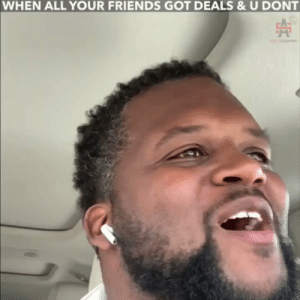 Friends, Memes, and All Your Friends: WHEN ALL YOUR FRIENDS GOT DEALS & U DONT You gotta call em up and act like you ain't hurt... 😔 https://t.co/E1NkSllTi5