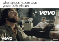 Africa, Ancestry, and Rain: when ancestry.com says  you're 0.2% African  Vevo  vevo  vevo