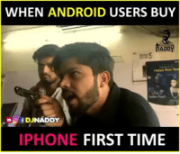 Android, Vine, and Vines: WHEN ANDROID USERS BUY  AADDY  NADDY  IPHONE FIRST TIME Jab dekho unghuta lagane bolta hai 😂😂 Woh Mukka wala phone de de 😝😝 Tag Iphone users & Android Users 😜 iPhones Funny Vines Saw many videos 😂👌🏻 Man vs Wild LovedTheConceptAndDialogues . Credits : @djnaddy Follow @djnaddy for more 👍🏻
