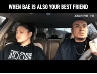 9gag, Bae, and Best Friend: WHEN BAE IS ALSO YOUR BEST FRIEND  LGNDFRVR I FB Follow @couple for more couple goals. 🎥 @lgndfrvr - 9gag couple relationship couplegoals