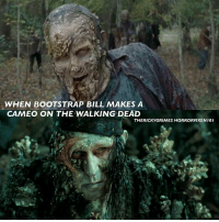 Memes, 🤖, and Bootstrap: WHEN BOOTSTRAP BILL MAKES A  CAMEO ON THE WALKING DEAD  THERICKY GRIMES HORRORVIXENI01 piratesofthecaribbean thewalkingdead