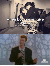 Rick Rolled  ~Nathwilly: when boys never give  up on you Rick Rolled  ~Nathwilly