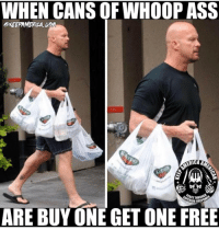 😂 MERICA!: WHEN CANSOF WHOOP ASS  AMERI  SUPERIOR  HREB  ARE BUY ONE GET ONE FREE 😂 MERICA!