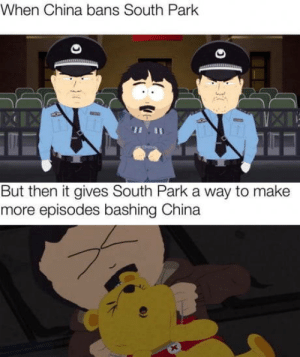 South park good: When China bans South Park  But then it gives South Park a way to make  more episodes bashing China South park good