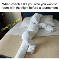 Memes, South Park, and Asks: When coach asks you who you want to  room with the night before a tournament Or Towely from South Park, totally up to you coach 👍🏻