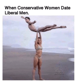 Is this an ad hominem fallacy?: When Conservative Women Date  Liberal Men. Is this an ad hominem fallacy?