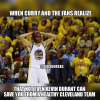 Look at all the crying Jordan faces in the background 😂😂😂 NBAMemes: WHEN CURRY AND THE FANSREALIZE  EN  30  ARRIO  uPERSOURCES  THAT NOT EVEN  KEVINDURANT CAN  SAVE YOU FROMA  CLEVELAND TEAM Look at all the crying Jordan faces in the background 😂😂😂 NBAMemes
