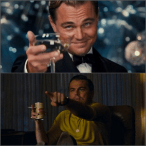 When DiCaprio watches a film: When DiCaprio watches a film