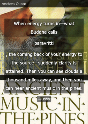 Osho Ancient Music In The Pines In Zen Mind Suddenly Stops