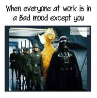 Bad, Dank, and Mood: When everyone at work is in  a Bad mood except you  thesocialworkhub