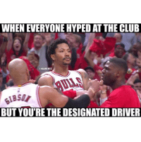 goodmorning 😂😭😂😭😭😂: WHEN EVERYONE HYPED AT THE CLUB  ONBAMEMES  BUT YOU'RE THE DESIGNATED DRIVER goodmorning 😂😭😂😭😭😂