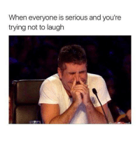 Memes, 🤖, and Seriously: When everyone is serious and you're  trying not to laugh