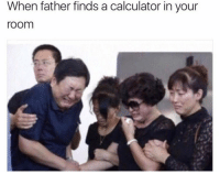 Chun-Li, Funny, and Chun: When father finds a calculator in your  room Why Chun Li why 😭