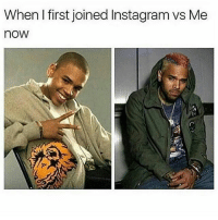 Funny, Google, and Instagram: When first joined Instagram vs Me  nOW REMEMBER TO SWIPE LEFT👈 LIKE FOR MORE❤ FOLLOW FOR MORE CONTENT😤 TAG SOME HOMIES😈 ** gamers gamer game minecraft games RelatableVideos gaming FunnyMemes 2017 love savage trump camera Meme InfiniteWarfare google insane Funny cameras photo Xbox omg MADTING Games VideoGames Comedy humor sidemen sdmn celebrity