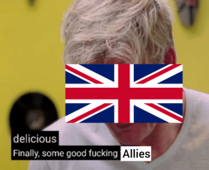 When France surrenders almost immediately, but then the Soviets and Americans get involved: When France surrenders almost immediately, but then the Soviets and Americans get involved
