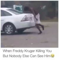 This Nigga Possessed.... 👀👀😂 He need some Milk 🍼 😂😂😂😂💀💀💀 ✅ Tag Someone 👇👇: When Freddy Kruger Killing You  But Nobody Else Can See Him This Nigga Possessed.... 👀👀😂 He need some Milk 🍼 😂😂😂😂💀💀💀 ✅ Tag Someone 👇👇
