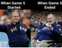 Accurate.  (Jerry McCloy): When Game 5  Started  When Game 5  Ended Accurate.  (Jerry McCloy)