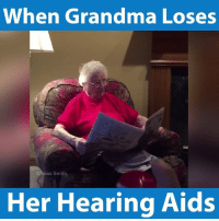 It's hard to tell, Ross Smith!: When Grandma Loses  oss Smith  Her Hearing Aids It's hard to tell, Ross Smith!