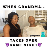 Wait FOR it! 😈 Download Pic it Today and create your own game for the holidays! (Link in Bio) We had soooo much fun doing this 😂 @missjaydmv @pana_merican @montiw @natwhitt supportwomenincomedy: WHEN GRANDMA  Pic It  TAKES OVER  GAME NIGHT Wait FOR it! 😈 Download Pic it Today and create your own game for the holidays! (Link in Bio) We had soooo much fun doing this 😂 @missjaydmv @pana_merican @montiw @natwhitt supportwomenincomedy