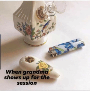 Grandma, Set, and For: When grandma  shows up for the  session The perfect set