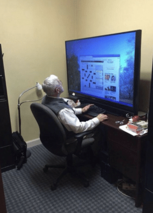 When grandpa trusts his 16-year-old grandson to help choose his new computer: When grandpa trusts his 16-year-old grandson to help choose his new computer