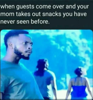 meirl by Cactus_3301 MORE MEMES: when guests come over and your  mom takes out snacks you have  never seen before. meirl by Cactus_3301 MORE MEMES