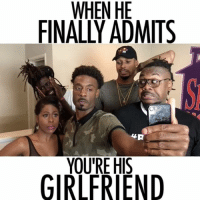 When he finally admits your his girlfriend 💑😈 @juhahnjones ft. @cherellepatrice @your_nay @troyinla @mr.clankclank305 @teamclaytonthomas @layllen @stephanosway girlfriendsbelike girlfriendgoals girlfriends dating datingtips claimed gf bf gfriend momentoftruth moments internet instastory livestream boothang baegoals baewatch bae LIKE. COMMENT. SHARE. (Tag Bae ❤️): WHEN HE  FINALLY ADMIS  4P  YOURE H  GIRLFRIEND When he finally admits your his girlfriend 💑😈 @juhahnjones ft. @cherellepatrice @your_nay @troyinla @mr.clankclank305 @teamclaytonthomas @layllen @stephanosway girlfriendsbelike girlfriendgoals girlfriends dating datingtips claimed gf bf gfriend momentoftruth moments internet instastory livestream boothang baegoals baewatch bae LIKE. COMMENT. SHARE. (Tag Bae ❤️)