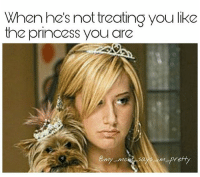 Memes, Princess, and Mom: When he's nottreating you like  the princess you are I've actually seen @thegingerjew_ when she didn't get her way, it was apocalyptic 😩😂😂 my_mom_says_im_pretty noharmdone teamnoharmdone