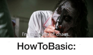 When HowToBasic starts throwing eggs or tomatoes: When HowToBasic starts throwing eggs or tomatoes