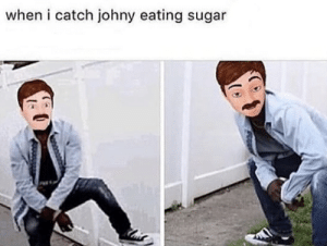 Eating Sugar
