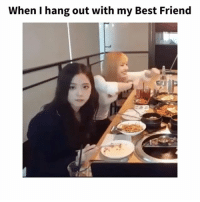 Asian, Best Friend, and Lol: When I hang out with my Best Friend Haha I love it when my best friend don't give a shit about my weirdness 😂😂 let's be weird together 😆😆 blackpink boba beenasian beenazn asianpersuasion asianmovement aznmovement asians asian growingupasian asianproblems asiansneverdie aznneverdie asianguy asiangirl asianbabes asianbabe comedy lol asianmemes memes meme bts bigbang twice btsarmy jaypark kpop pho sriracha