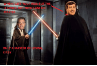College Football, Nick Saban, and Nick: WHEN I LEFT YOU i WAS BUT THE  LEARNER, BUT NOW I AM THE  MASTER  ONLY A MASTER OF LOSIN  KIRBY That time Kirby Smart thought he was going to beat Nick Saban