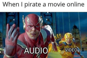Why I always use VLC: When I pirate a movie online  AUDIO VIDEO Why I always use VLC