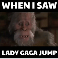 @Regrann from @laugh.at.my.pain - Lmao 😂 ladygaga ladygagajump superbowl memeunit: WHEN I SAW  LADY GAGA JUMP @Regrann from @laugh.at.my.pain - Lmao 😂 ladygaga ladygagajump superbowl memeunit