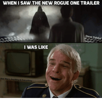 rogue-one: WHEN I SAW THE NEW ROGUE ONE TRAILER  Steve Sabbai  I WAS LIKE  Star Wars: Anything & Everything