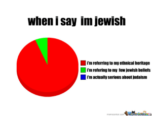 Ashkenazi All The Way by thundertwinkies - Meme Center: when i say im jewish  i'm referring to my ethnical heritage  i'm refering to my few jewish beliefs  i'm actually serious about judaism  memecenter.com Mame Centerae Ashkenazi All The Way by thundertwinkies - Meme Center