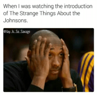 Crazy, Jay, and Lmao: When I was watching the introduction  of The Strange Things About the  Johnsons.  Jay-ls-So-Savage What the fuck was I watching? This movie is not meant for Christians whatsoever. 😂😂😂😂 thestrangethingsaboutthejohnsons omg fixitjesus lmao why niggasbelike bitchesbelike crazy wtf icant icantdeal imdead imdone funnymeme funnyposts funnyshit sinister savage