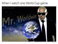 Memes, Music, and World Cup: When I watch one World Cup game  adam.the.creator  Made By Paula K:  MADE WITH MOMUS I'm now basically a global cultural ambassador. World music is also my favorite genre. ⚽️ mexico