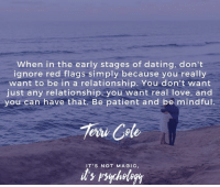 how to deal with early stages of dating