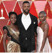 Academy Awards, Jennifer Lawrence, and Memes: When it comes to the Oscars there is always plenty of red carpet glamour. Here are just a few of the looks the celebrities wore at the 90th Academy Awards. Which one is your favourite?💃🏼🕺🏽 Lupita Nyong'o, Winston Duke, Danai Gurira. PHOTO: Neilson Barnard-Getty Images Adam Rippon. PHOTO: Mario Anzuoni-Reuters Gal Gadot. PHOTO: Valerie Macon-AFP-Getty Images Daniel Kaluuya. PHOTO: Frazer Harrison-Getty Images Jennifer Lawrence. PHOTO: Valerie Macon-AFP-Getty Images Chadwick Boseman. PHOTO: Valerie Macon-AFP-Getty Images Salma Hayek. PHOTO: Getty Images Nicole Kidman: PHOTO: Mario Anzuoni-Reuters
